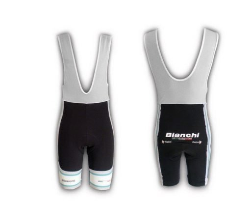 Bianchi Team Carbon Bib Short Grey