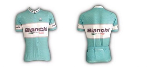 Bianchi Team Carbon Short Sleeve Jersey