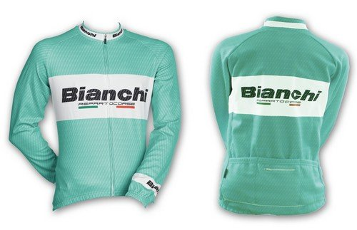 Bianchi Team Carbon Long Sleeeve Jersey