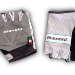 Bianchi Team Carbon Glove Grey
